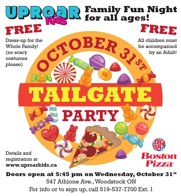 October 31st Tailgate Party